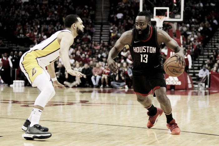 James Harden out at least two weeks
