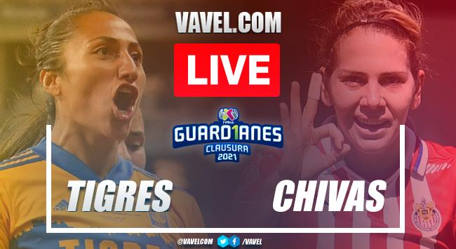 Goals and Highlights of Tigres 5-3 Chivas on Final Vuelta Liga MX Femenil 2021