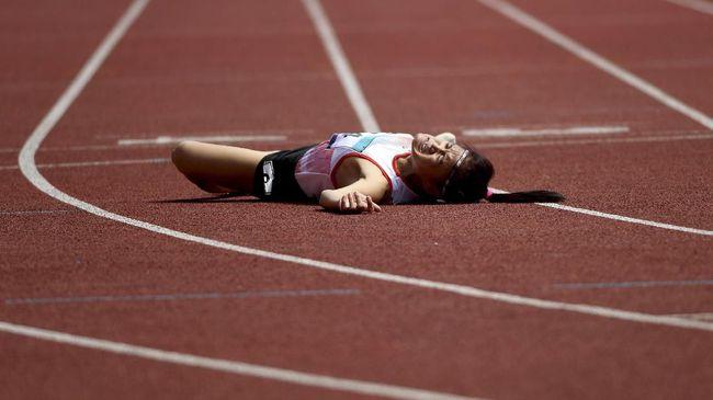 Atlet Asian Para Games Insan Nurhaida Mengalami Retak Tulang Leher