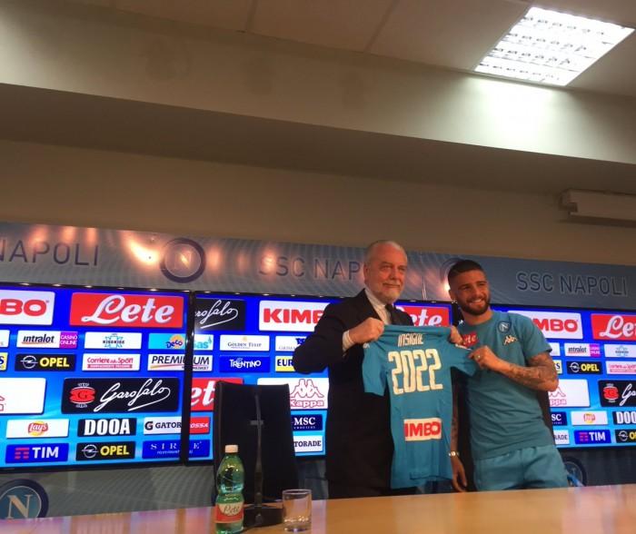 """Napoli, il giorno di Insigne: """"Ho sempre sognato questa maglia, ora spero di non toglierla più"""""""