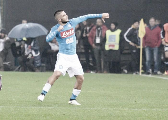 Com dois de Insigne, Napoli derrota Udinese fora de casa após nove anos