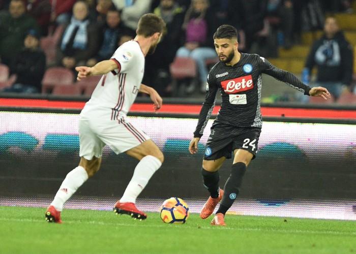 Serie A - Insigne trascina il Napoli, Milan KO al San Paolo