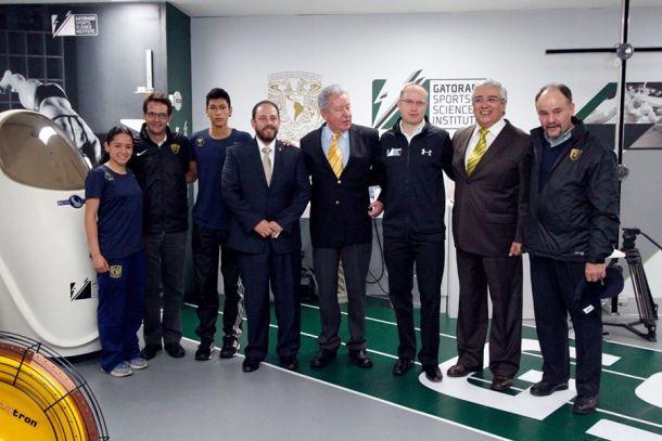 Inauguran el laboratorio Gatorade Sports Science Institute en la UNAM
