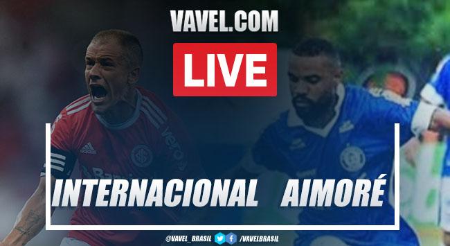 Gols e melhores momentos de Internacional x Aimoré pelo Campeonato Gaúcho (2-0)