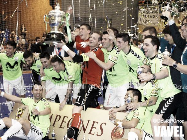 Inter Movistar consigue la primera Copa del Rey de su historia
