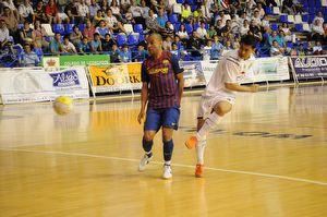 Reale Cartagena vence al Barça Alusport en una justa despedida