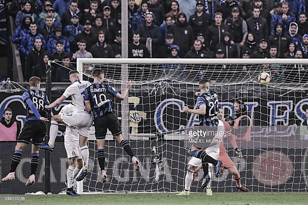 Pinchazo serio del Inter en Bérgamo
