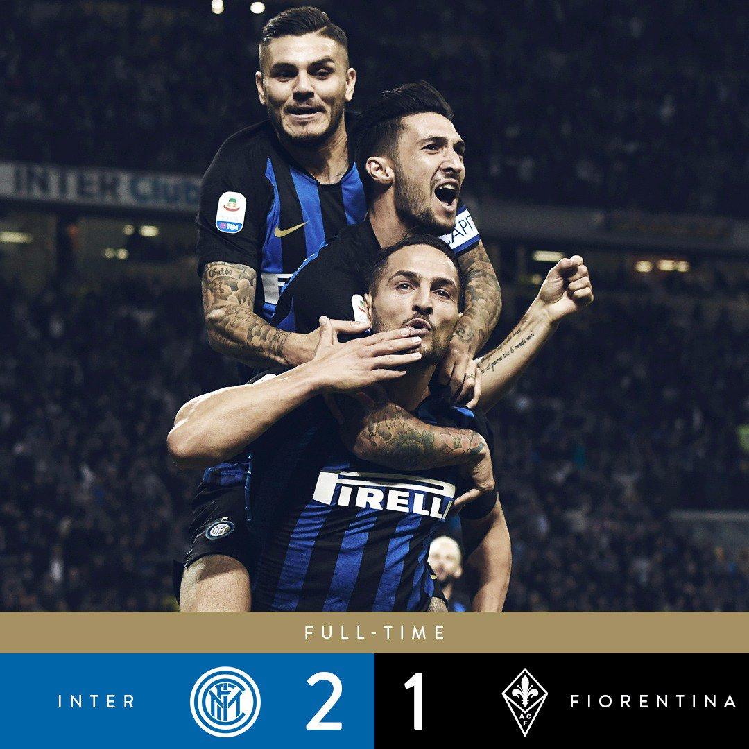 Inter, cosa fuoriesce dalla vittoria sulla Fiorentina