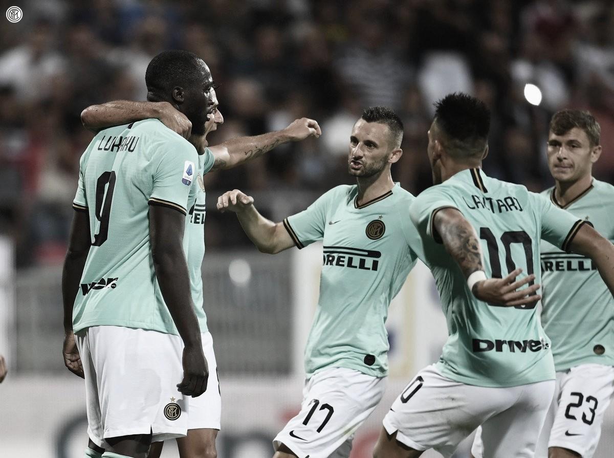 Pleno de puntos: El Inter gana en Cerdeña y cuenta con puntaje perfecto