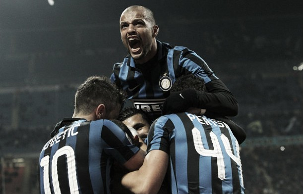 Inter Milan 4-0 Frosinone: Delight for Mancini as his team climb top