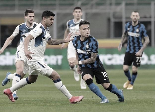 Atalanta domina, mas Internazionale conquista sétima vitória seguida e segue na liderança da Serie A