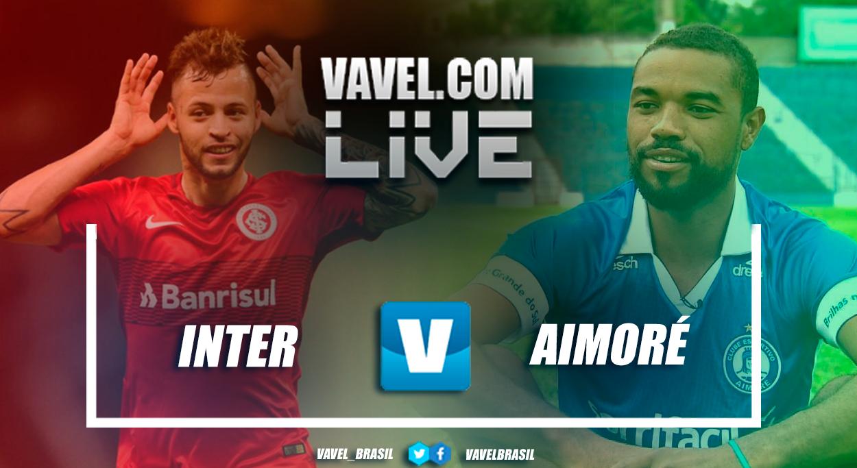 Resultado Inter x Aimoré pelo Campeonato Gaúcho (2-0)