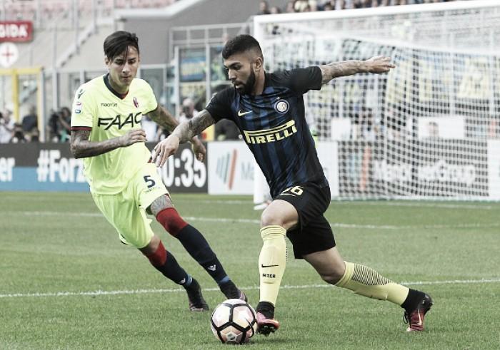 Internazionale decepciona e empata com Bologna em casa na estreia de Gabriel Barbosa