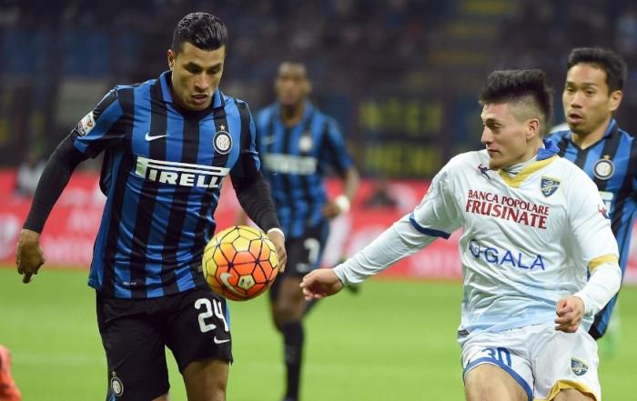 Frosinone - Inter, ripartire