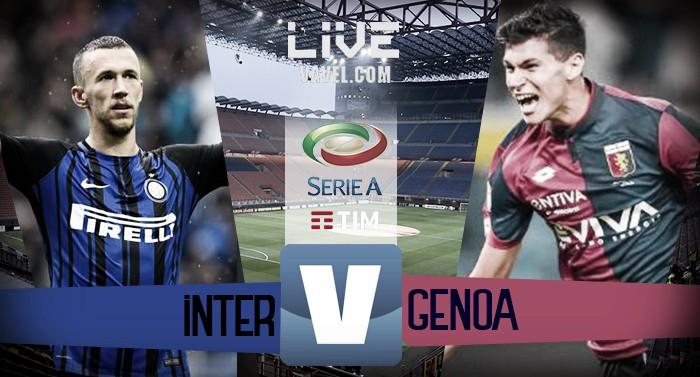 Risultato Inter - Genoa in diretta, LIVE Serie A 2017/18 - D'Ambrosio! (1-0)