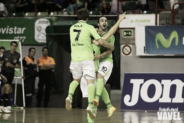 Inter Movistar, a medio gas, aplasta a Montesinos Jumilla