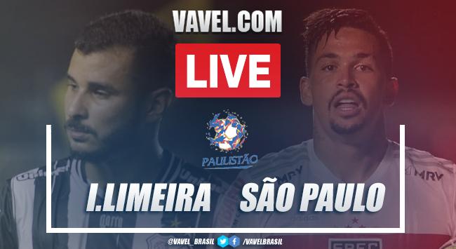 Gols e melhores momentos de Inter de Limeira 0 x 4 São Paulo