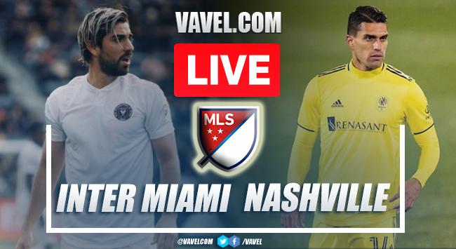 Goals and Highlights of Inter Miami 1-5 Nashville SC on MLS 2021
