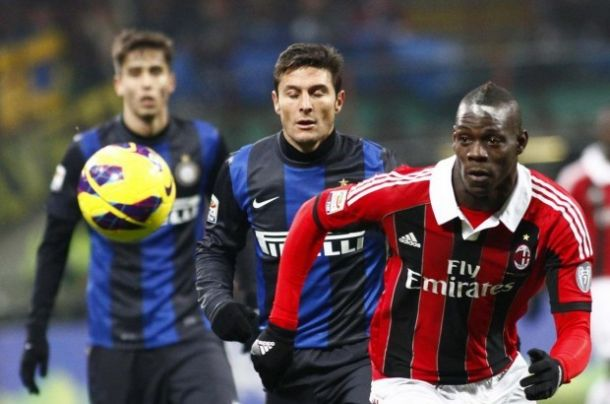 Live Milan - Inter in serie A