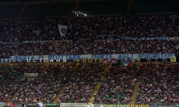 Arriva la sanzione: Inter, due turni senza tifo in curva