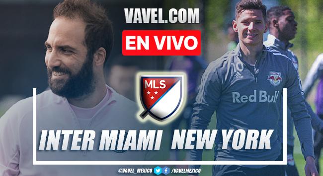 Goles y resumen del Inter Miami 0-4 New York RB en MLS 2021