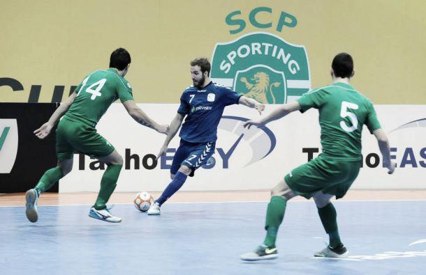 Inter Movistar - Futsal Charleroi: segundo envite