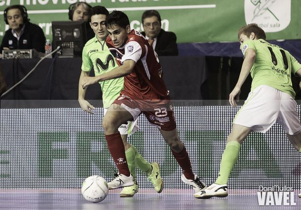 Santiago Futsal - Inter Movistar: cambio de chip