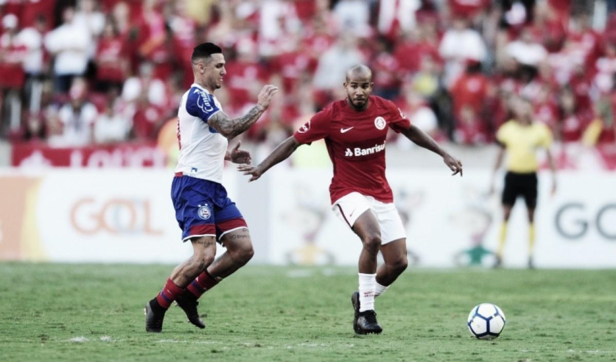 Após vencer Bahia, Internacional terá sequência difícil nas próximas quatro rodadas do Brasileirão