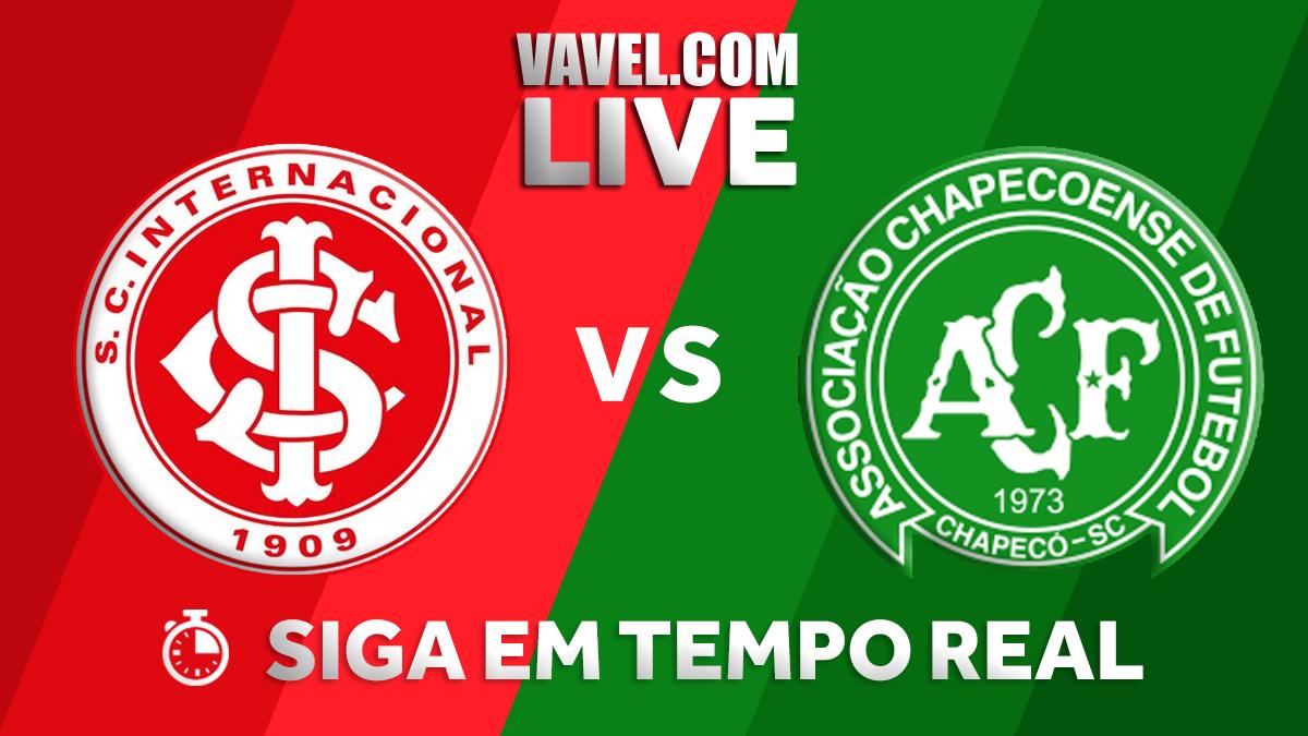 Inter vence a Chapecoense pelo Campeonato Brasileiro (3-0)