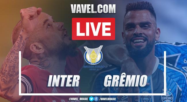 Internacional x Grêmio AO VIVO: onde assistir jogo em tempo real pelo Campeonato Brasileiro