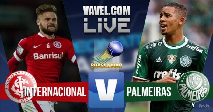 Resultado Inter x Palmeiras no Campeonato Brasileiro 2016 (0-1)