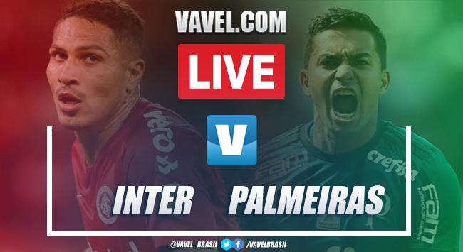 Gols e melhores momentos de Inter 1 x 1 Palmeiras pelo Brasileirão 2019