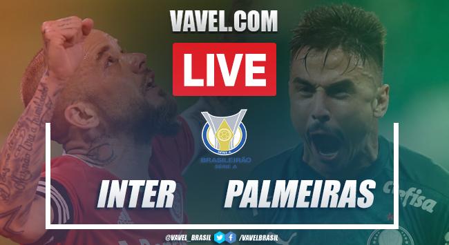 Gols e melhores momentos de Inter 2 x 0 Palmeiras pelo Campeonato Brasileiro 2020