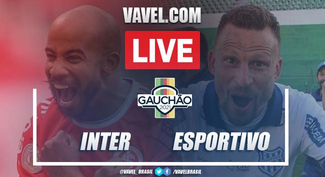 Gols e melhores momentos de Internacional 5 x 0 Esportivo pelo Campeonato Gaúcho
