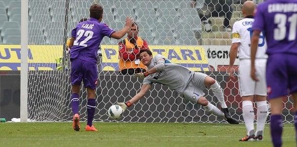 Reti bianche a Firenze, l'Inter saluta la Champions