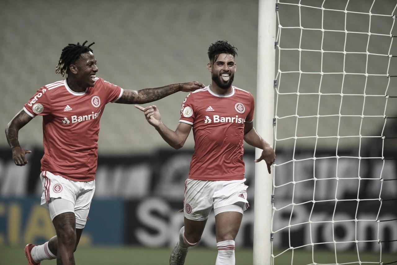 Inter bate Ceará, vira vice-líder do Brasileirão e Abel supera marca de Coudet