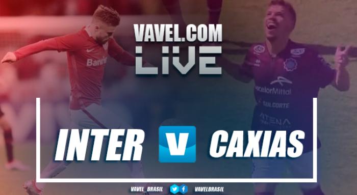 Resultado Caxias x Inter pelo Campeonato Gaúcho 2017 (1-0) (3-5)