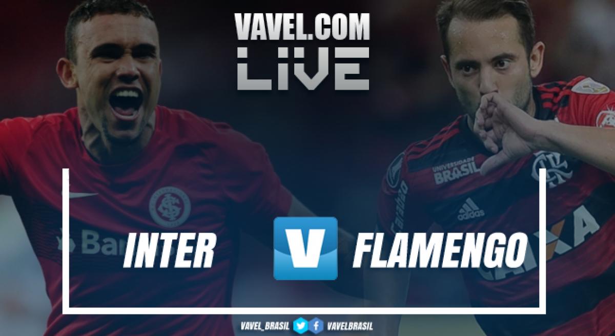 Resultado Inter x Flamengo pelo Campeonato Brasileiro 2018 (2-1)