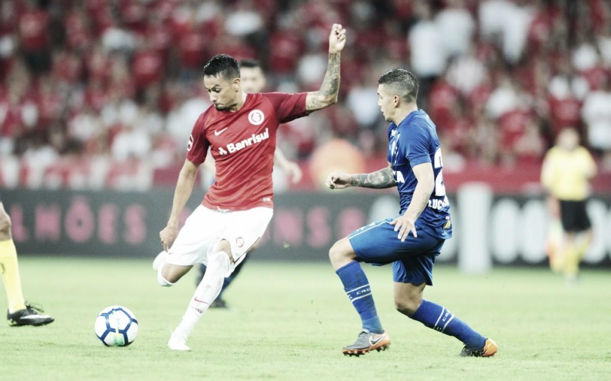 """Rodrigo Dourado lamenta empate do Internacional com Cruzeiro: """"Faltou o gol"""""""