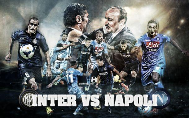Live Inter - Napoli in Serie A