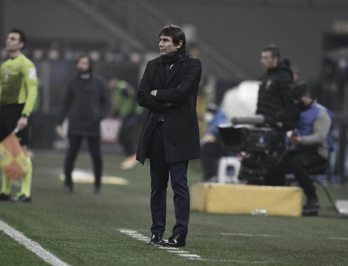 Antonio Conte destaca que Internazionale merecia sorte melhor diante da Juventus