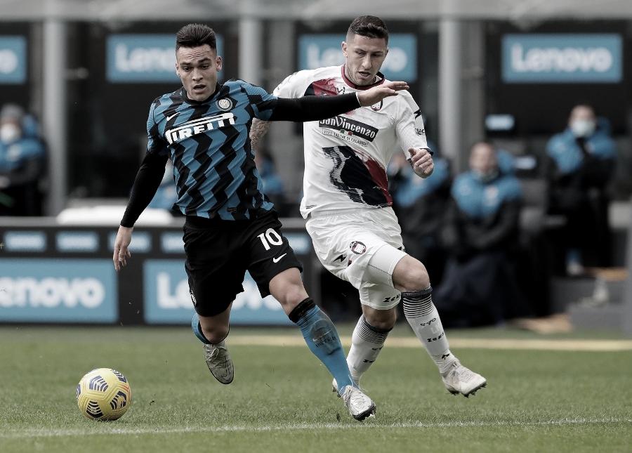 Gols e melhores momentos de Crotone x Internazionale (0-2)