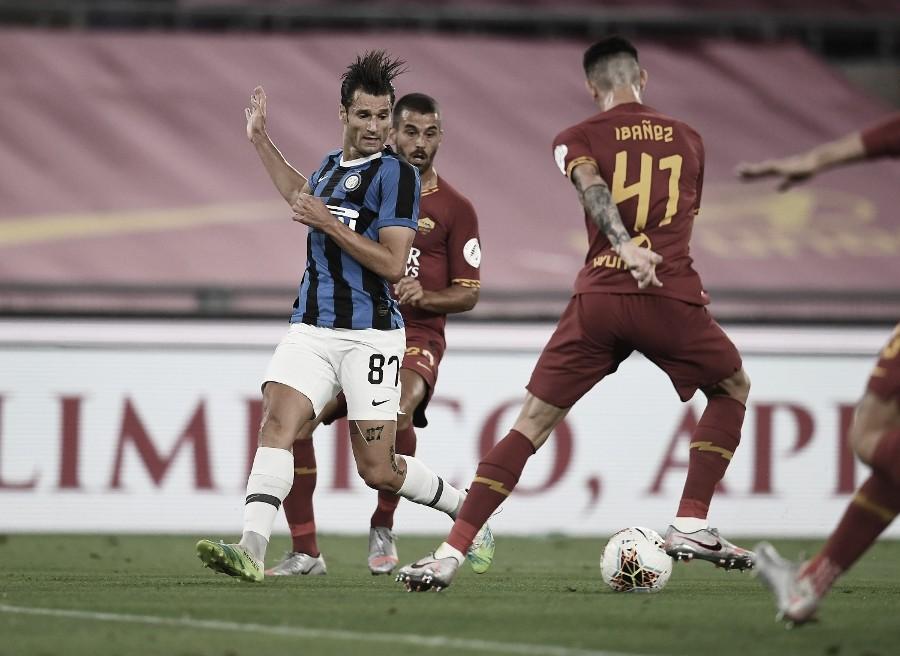 Inter de Milão tropeça na Roma e perde chance de encostar na Juventus