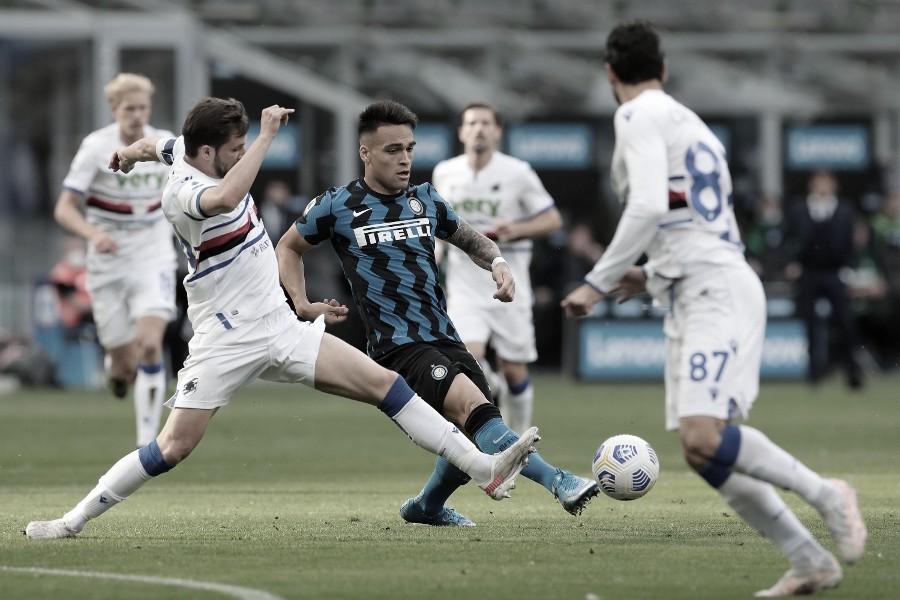 Goals and Highlights: Sampdoria 2-2 Internazionale at the Serie A