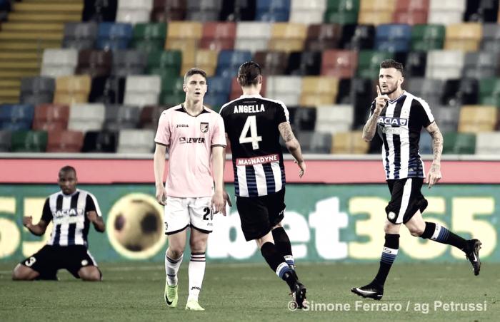 """Udinese - Angella: """"Mi faccio trovare sempre pronto. Faccio il mio dovere"""""""