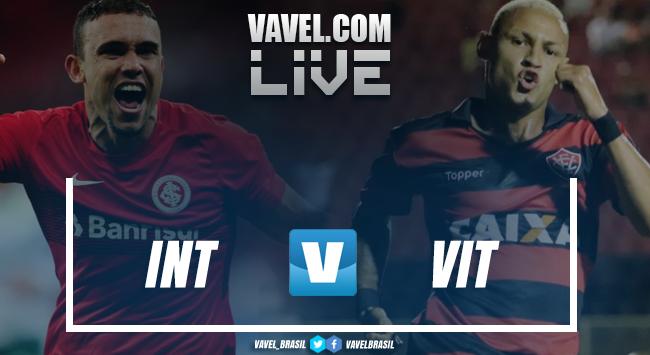 Resultado Internacional 2x1 Vitória AO VIVO pelo Campeonato Brasileiro 2018