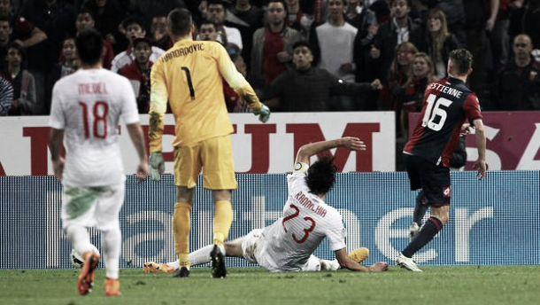 Genoa - Inter è quasi follia. Finisce 3-2 una partita incredibile