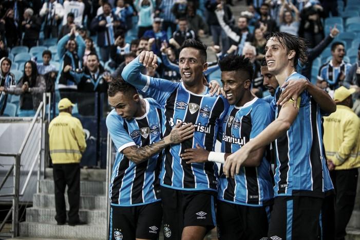 Grêmio acumula invencibilidade de 15 jogos em primeiro semestre sem perder na Arena