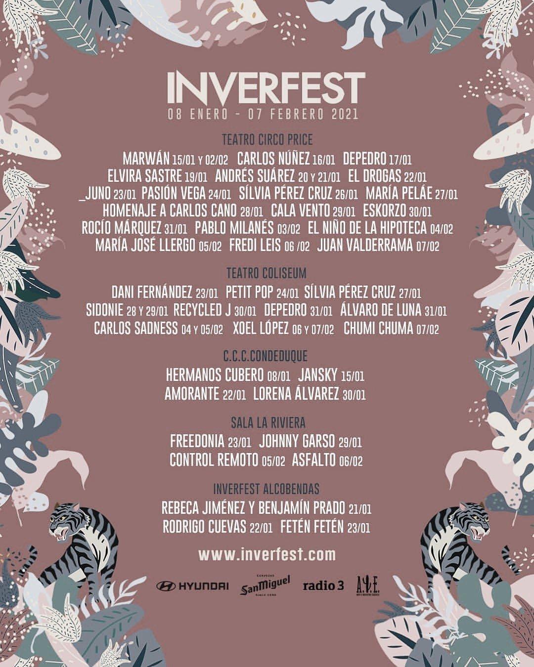 INVERFEST, el festival de invierno en Madrid