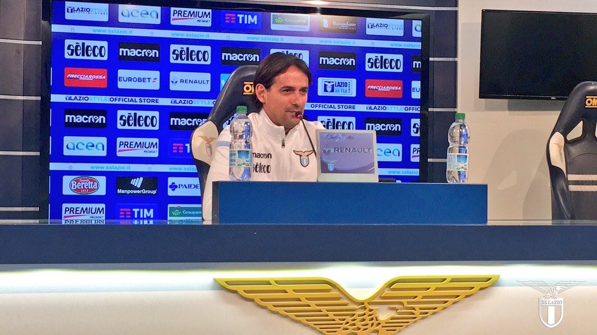 """Inzaghi: """"La Lazio deve guardare solo a se stessa per il quarto posto"""""""